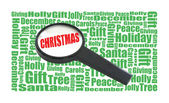 Christmas Search — Stock Photo
