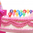 Happy Birthday Candles — Foto de Stock
