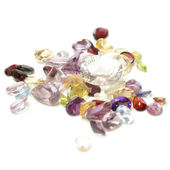 Mixed Gemstones — Stock Photo