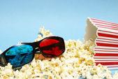 3d-film entertainment — Stockfoto