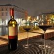 Wine in Venice — Stock Photo