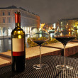 Stock Photo: Wine in Venice