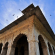 Red Fort in Old Delhi - Stock Photo