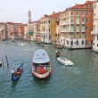 Venetian Grand Channel - Stock Photo