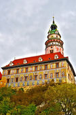 Castle in Cesky Krumlov in HDR — Stock Photo
