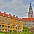 Stock Photo: Castle in Cesky Krumlov in HDR