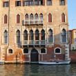 Grand Channel Palace in Venice — Stock Photo