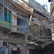 Stock Photo: Electrical Wiring in India