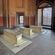 Interior of Humayun Tomb, India - Stock Photo