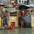 Stock Photo: Indiin Holy Varanasi