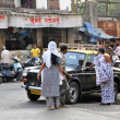 Indian Take Taxi — Foto de Stock