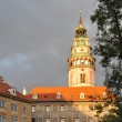 Castle in Cesky Krumlov — Stock Photo