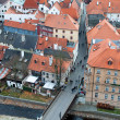 Stock Photo: Bridge in Cesky Krumlov