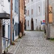 Narrow Street of Cesky Krumlov — Stock Photo
