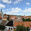 Panorama of Cesky Krumlov - Stock Photo