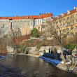 Panorama of Cesky Krumlov — Stock Photo