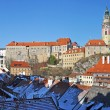 Royalty-Free Stock Photo: Panorama of Cesky Krumlov
