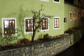 House on the Riverbank in Cesky Krumlov — Stock Photo