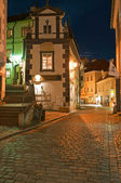 Narrow Street of Cesky Krumlov — Foto de Stock