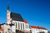 Chiesa di san vito a cesky krumlov — Foto Stock