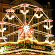 Giant Wheel at Christmas Market in Dresden — Stock Photo #6604520