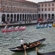 Boat Race in Venice — Stock Photo