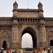 Gateway of India in Mumbai - Stock Photo