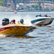 Speedboat in Action — Stock Photo