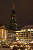 Christmas Market in Dresden — Stockfoto