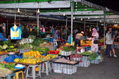 Cheap Market in Bandar Seri Begawan, the Capital of Brunei. — Stock Photo