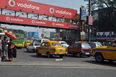 Traffic Jam in Kolkata — Stock Photo