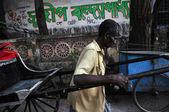 Rickshaw Man — Stock Photo
