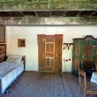 Stock Photo: Old Wooden House Interior