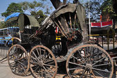 Old Rickshaws — Stock Photo