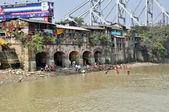 Afternoon Indian Hygiene in Kolkata — Stock Photo