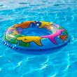 Stock Photo: Swim Ring in Swimming Pool