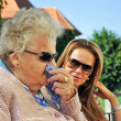 Grandmother and Granddaughter — Stock Photo #6693504