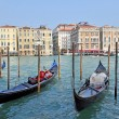 Gondolier in Venice — Stock Photo #6693537