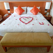 Stock Photo: Honeymoon Suite