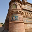 Column of Gwalior Fort — 图库照片