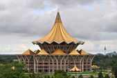 New Parliament Building in Kuching — Stok fotoğraf
