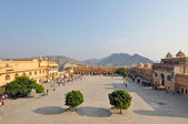 Amber Fort Courtyard — Stock Photo