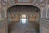 Interieur van amber fort — Stockfoto