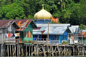 Water Village in Brunei — Stock Photo
