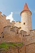 Středověký hrad — Stock fotografie
