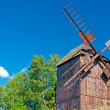 Wooden Windmill — Stock Photo #6732359