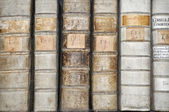 Detail of Books — Stockfoto
