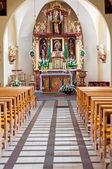интерьер церкви — Стоковое фото
