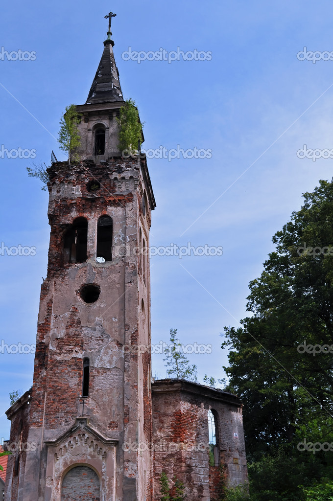 Ruined Church — Stock Photo #6732392