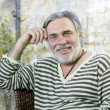 Стоковое фото: Portrait of happy mature man
